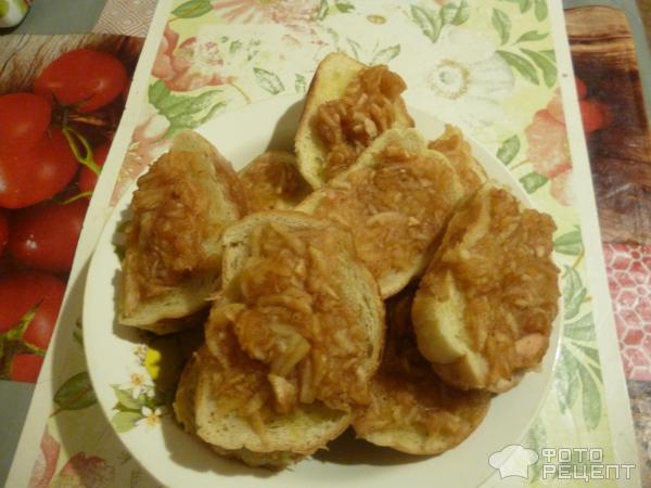 Сладкие горячие бутерброды фото
