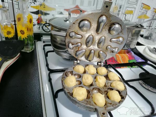 Печенье Орешки фото