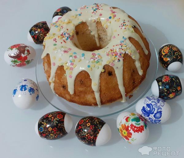 Пасхальный кекс Творожный фото