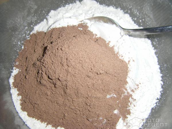 Какао и мука