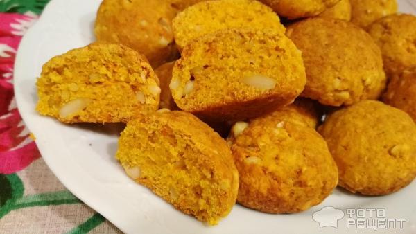 Морковное печенье фото