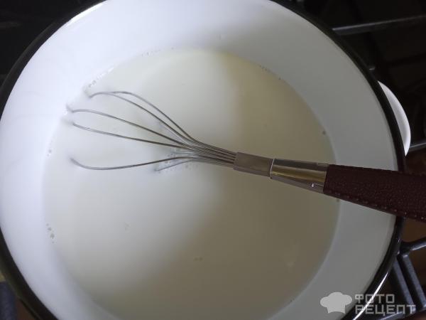 Манная каша на молоке без комочков фото