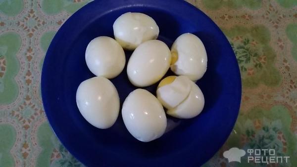 Салат Зеленый лук с яйцом фото