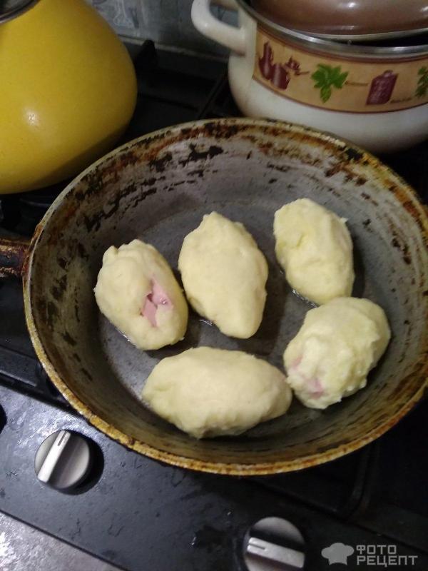 Котлеты из картофельного пюре фото