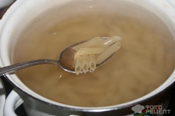 Пенне со сливочным соусом