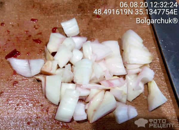 Салат из колонии (тела) чайного гриба (комбуча) фото