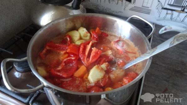 Домашний кетчуп с базиликом, заготовки фото