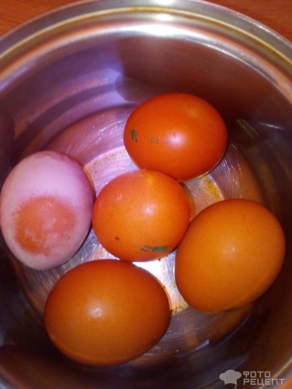 Паштет из яиц фото