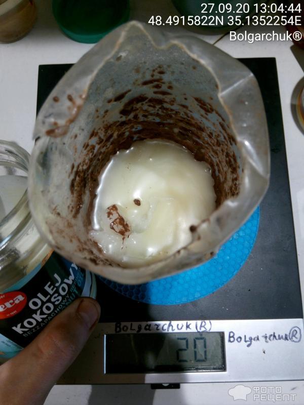 Десерт с семенами чиа фото