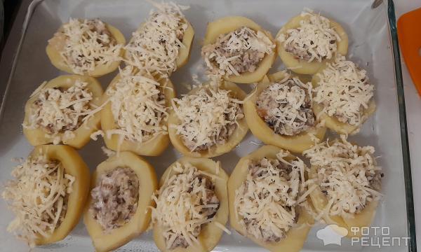 Картофель Лодочки фото