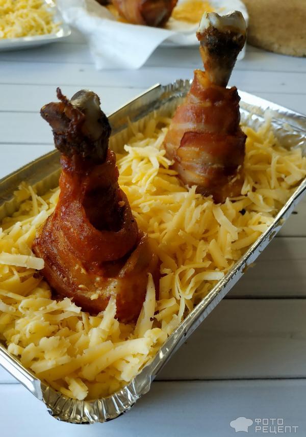 Запеканка картофельная с куриным мясом фото
