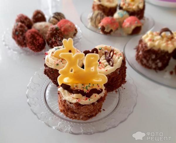 Пирожные пасхальные фото