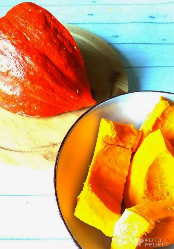 Десерт из тыквы с корицей фото