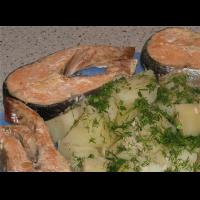 Рецепт: Рыба в пароварке