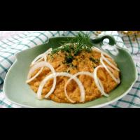Рецепт: Икра из кабачков с баклажанами