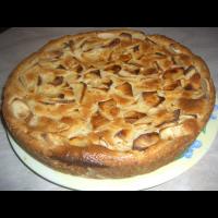 Рецепт: Быстрый пирог с яблоками