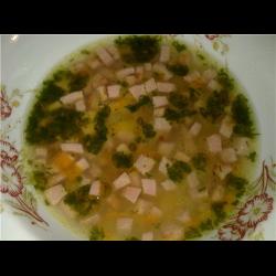 """Рецепт: Суп """"Студенческий"""""""