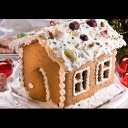 Рецепт: Рождественский пряничный домик