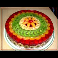 Рецепт: Торт с фруктами