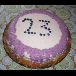 Рецепт: Торт со сметанно-желейным кремом