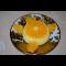 Фото Апельсиновый крем-десерт Перевертыш