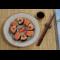 Фото Суши с креветками и слабосоленой семгой