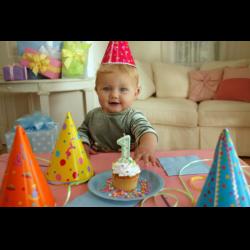 """Рецепт: Детский торт """"На первый День рождения"""""""