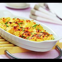 Рецепт: Цветная капуста запеченная в духовке