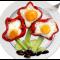 Фото Цветочная яичница