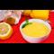Фото Лимонный крем с манной крупой