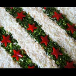 Рецепт: Салат звездный