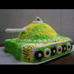 Рецепт: Торт-танк
