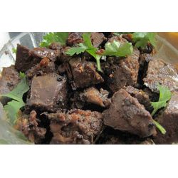Рецепт: Печень говяжья тушеная