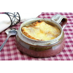 Рецепт: Луковый суп с гренками