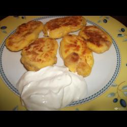 Рецепт: Сырники кукурузные