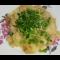 Фото Минтай тушеный с картофелем в сливочном соусе