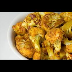 Рецепт: Цветная капуста в панировке