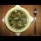 """Фото Зеленый суп из фасоли """"Черный глаз"""" и чесночных стрелок для самых маленьких"""