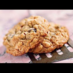 Рецепт: Печенье арахисовое