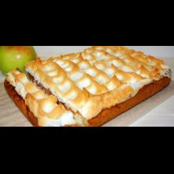 Рецепт: Яблочный пирог с безе