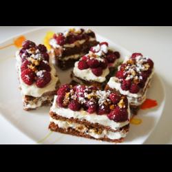 рецепты пирожных с малиной