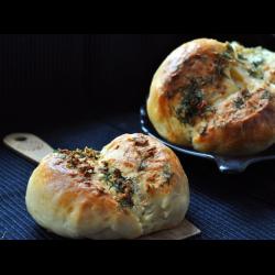 Рецепт: Чесночные булочки