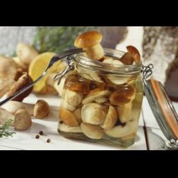 Рецепт: Грибы соленые