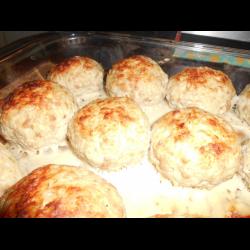 Рецепт: Духовые котлетки из индейки с бурым рисом для самых маленьких
