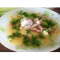 Фото Чечевичный суп с копченостями