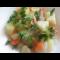 Фото Филе индейки, тушеное с овощами