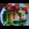 Фото Филе горбуши под чесночным соусом