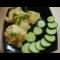 Фото Цветная капуста в кляре с сырно-чесночным соусом