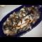 Фото Рыба дорадо тушенная с белыми грибами в супе