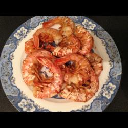 Рецепт: Красные аргентинские креветки